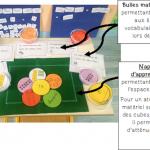 Napperons d'apprentissages et bulles mathématiques