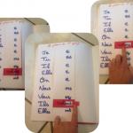Cahier interactif: le présent des verbes du premier groupe