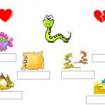 Cahier interactif: les valeurs de la lettre s